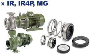 Торцевое уплотнение вала к насосам IR IR4P MG